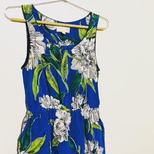 Anthropologie moulinette soeurs floral dress